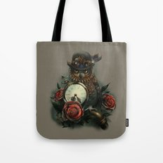 Sir Owl. Steampunk Tote Bag