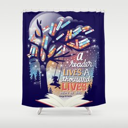 Thousand lives Shower Curtain