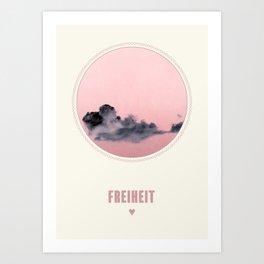 Freiheit Art Print