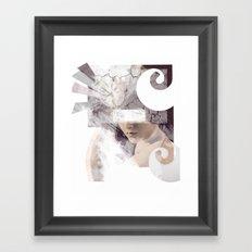The Inevitable Fade Away  Framed Art Print