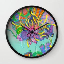 Alien Organisms 17 Wall Clock