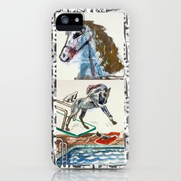 Girls & Horses II iPhone Case