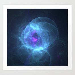 Bio luminescence Art Print