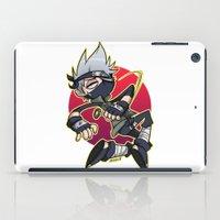 kakashi iPad Cases featuring Kakashibi by Jackce