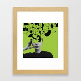 Abstraction - version 1. Framed Art Print