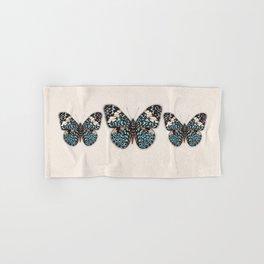 Blue Cracker Butterfy. Hand & Bath Towel