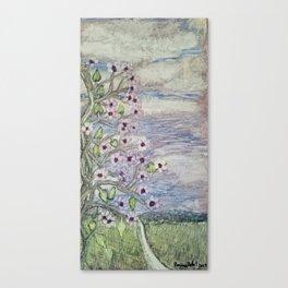 Flowers on the Vine Canvas Print