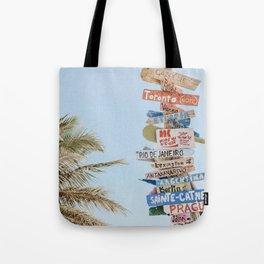 summer wanderlust Tote Bag