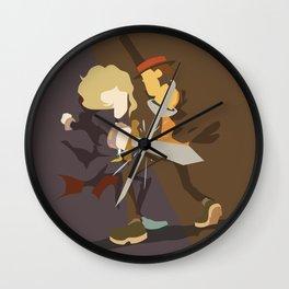 Professor Layton - Anton VS Layton Wall Clock