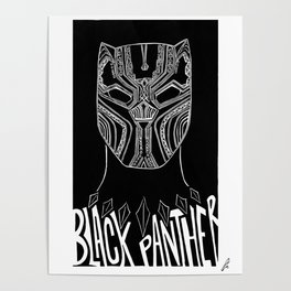 Wakanda // Black P. - Alternative Movie Poster Poster