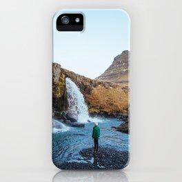 Iceland Waterfalls iPhone Case