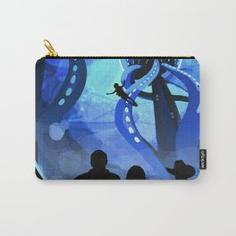 Europa Space Travel Retro Art Carry-All Pouch