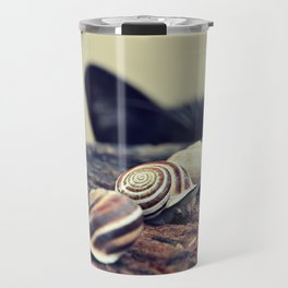 Cat Snails Travel Mug