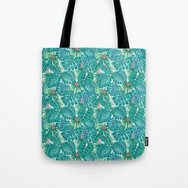 Tropic Pattern Tote Bag