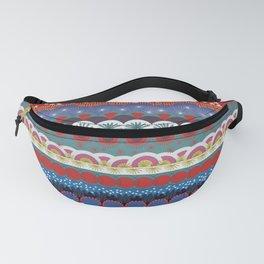 Japanese Tribal Design Fanny Pack