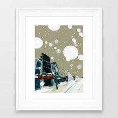Wyndham Street Framed Art Print