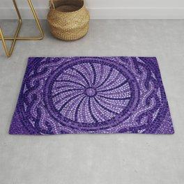 Ultra Violet Stone Tiles 18-3838 Rug