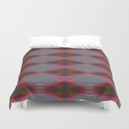 Pink glow 1 Duvet Cover