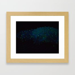 Electric Nights Framed Art Print
