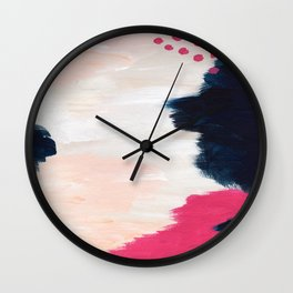 In the Sand Abstract Wall Clock