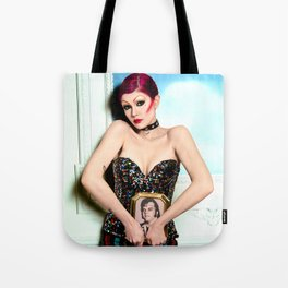 "Columbia - ""A Groupie"" Tote Bag"