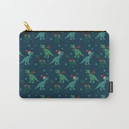 Holiday T-Rex Carry-All Pouch