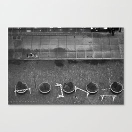 Meat Packing Street Canvas Print