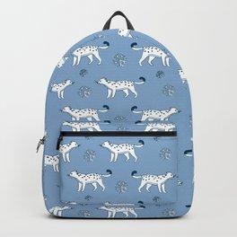 snow leopard pattern Backpack