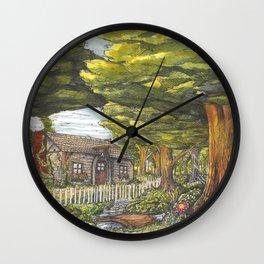Woodland Scene Wall Clock