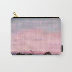 Plaid Landscape Tranquil Sunset Carry-All Pouch