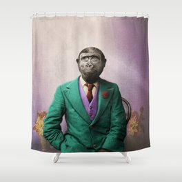 Bradley was a Young Gorilla with BIG Dreams Shower Curtain