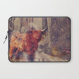 Sightseeing Cattle Laptop Sleeve