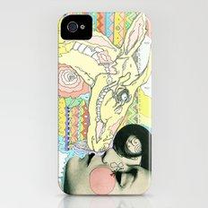luv el chivo, la cabra  iPhone (4, 4s) Slim Case