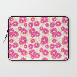 12 Sketched Mini Flowers Laptop Sleeve