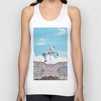 carousel Tank Tops featuring carousel by cavernsss