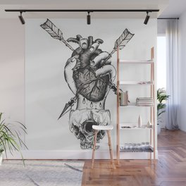 Heart In Hand  Wall Mural
