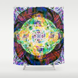 Krypton Shower Curtain