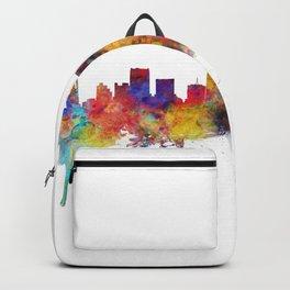 Dallas Texas Skyline Backpack