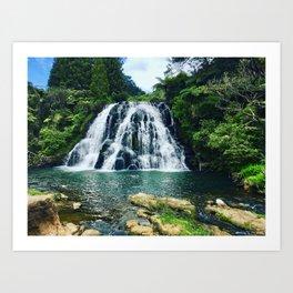 Chasing Waterfalls || Art Print