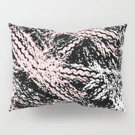 Desert Tracks Pink Pillow Sham