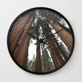 Sky Climbers - Sequoia Wall Clock