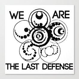the last defense - lorien leagacies Canvas Print