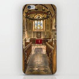 Knowlton Church Chancel iPhone Skin