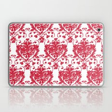 giving hearts giving hope: red damask Laptop & iPad Skin