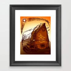 Ole Barn Framed Art Print