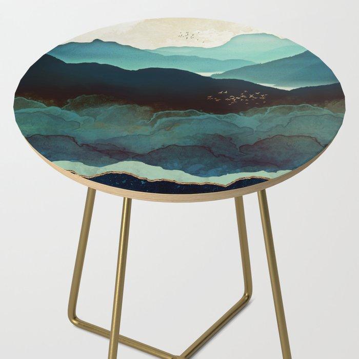 Indigo Mountains Side Table