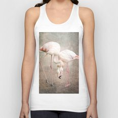 The convoluted conversation of the necks Unisex Tank Top