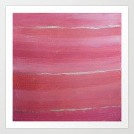 Pink Blend  Art Print