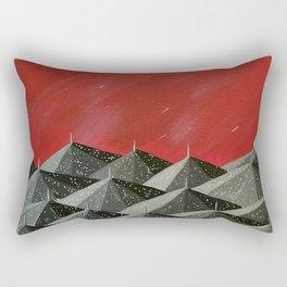 """""""New Orleans Umbrellas"""" Rectangular Pillow"""
