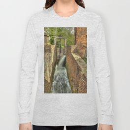 Sluice Gate at the Water mill Long Sleeve T-shirt